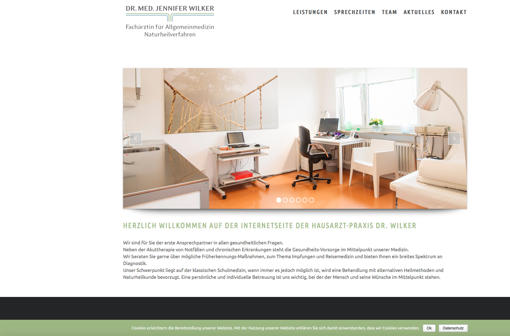 Website Praxis Wilker